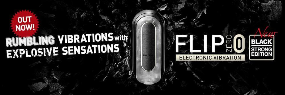 product tenga flip zero electronic black banner